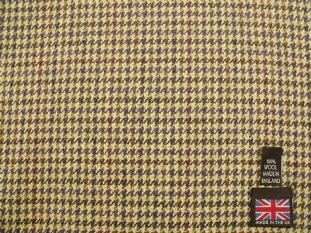 100% Wool Gun Club Check Fabric BZ05